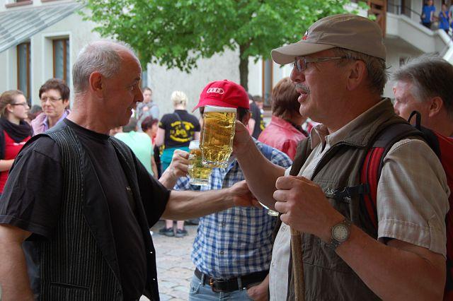 Maihock der Landjugend Merdingen 2012