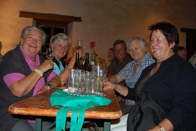 Impression vom Spießbratenessen der Laju Merdingen 2012