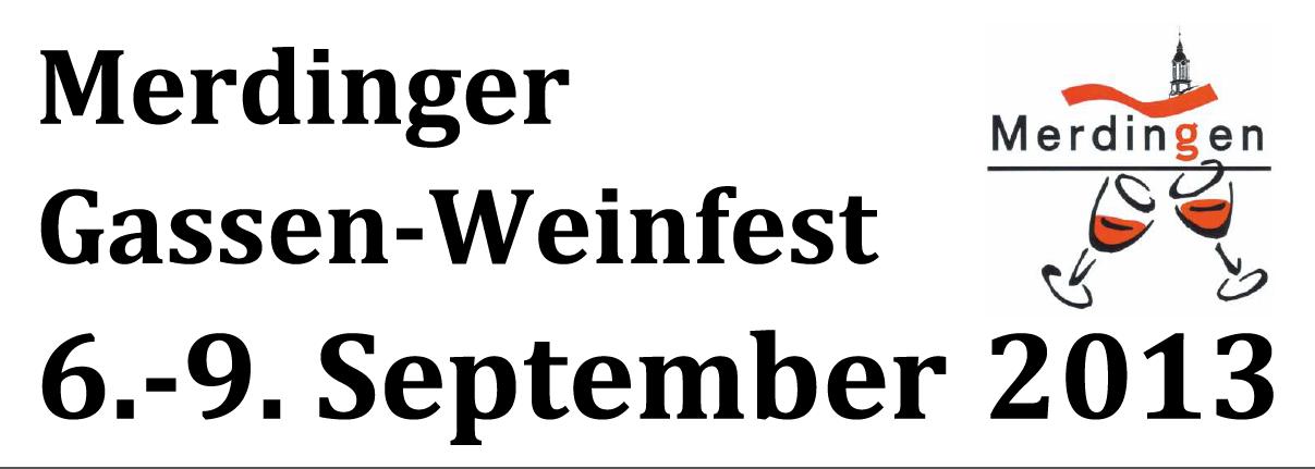 Gassenweinfest 2013