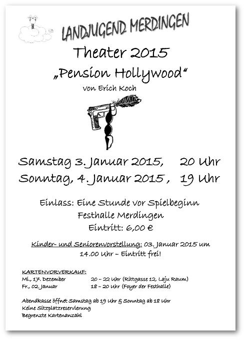 Plakat Theater 2015