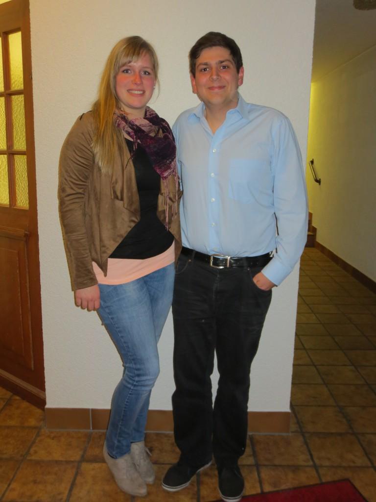 1. Vorsitzende, Eva Kunzelmann und Dominik Schopp