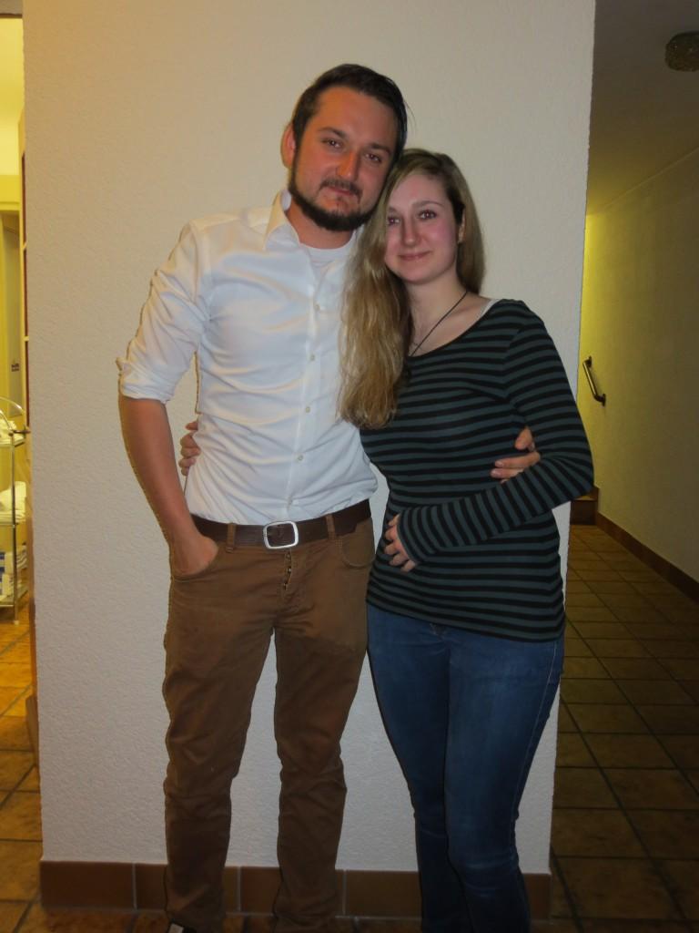 2. Vorsitzende, Andreas und Stefanie Bärmann